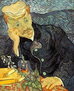 ゴッホ「医師ガシェの肖像」
